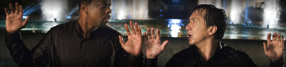 Chris Tucker & Jackie Chan Hands Up in Rush Hour 3
